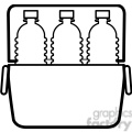water bottle icons in a cooler  gif, png, jpg, eps, svg, pdf