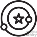 space orbit vector icon  gif, png, jpg, eps, svg, pdf