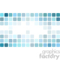 vector business card template shades of ocean green digital middle text design
