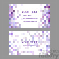 vector business card template set 035