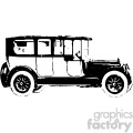old vintage distressed limousine car retro vector design vintage 1900 vector art GF