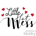 little hot mess svg cut file