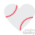 love baseball heart design svg cut file vector  gif, png, jpg, eps, svg, pdf