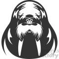 walrus vector art