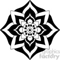 mandala geometric vector design 010