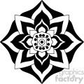 mandala geometric vector design 010
