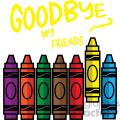 primary colors crayon svg cut file vector icon