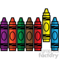 crayon set svg cut file vector icon