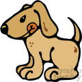 cartoon clipart dog 001 c