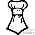 cartoon tie 003 bw