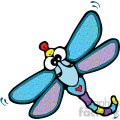 cartoon dragonfly image