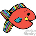 cartoon vector fish 005 c