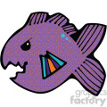 cartoon vector fish 003 c