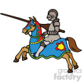 vector knight cartoon art