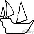 ship silhouette