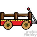 cartoon wagon