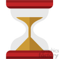 hourglass vector flat icon