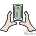 money grab vector icon