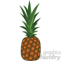 pineapple flat icon clip art