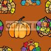 background backgrounds tiled bg thanksgiving pumpkin pumpkins turkey turkeys   102905-turkeys backgrounds tiled  jpg