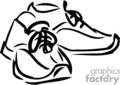 shoe shoes   clthg035b clip art clothing  gif, jpg