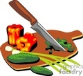 ingredients vector clip art image