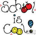 School is Cool cartoon