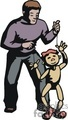 male ventriloquist with a puppet gif, jpg