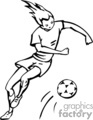 occupations work working occupational soccer girl girls sports   working_031-b clip art people occupations  gif