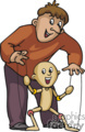 occupations work working occupational puppetmaster puppet master puppets   working_061-c clip art people occupations