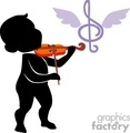 shadow people silhouette violin music song   people-048 clip art people shadow people  gif, jpg