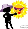 shadow people silhouette sunny sun sunshine summer   people-088 clip art people shadow people  gif, jpg