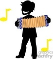 shadow people silhouette working work humans music accordion musician musicians   people-262 clip art people shadow people  gif, jpg, eps