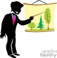 shadow people silhouette working work humans meeting business tree trees speak speaking   people-324 clip art people shadow people