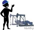 oil rig engineer gif, jpg, eps