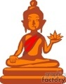 cartoon buddha statue