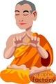 religion religious pray praying monks monk meditating buddha   religion011yy clip art religion  gif, jpg