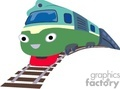 fast train with a face gif, jpg