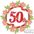 birthday birthdays anniversary anniversaries celebration celebrate 50 50th gif, png, jpg, eps