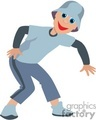 a boy with a grey hat breakdancing gif, png, jpg, eps