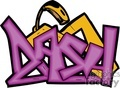 graffiti tag tags word words art vector clip art graphics writing city dash