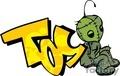 toy graffiti tag