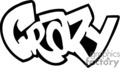 crazy graffiti tag