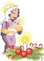 mary holding baby jesus gif, png, jpg, eps