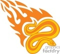 animal animals flame flames flaming fire vinyl-ready vinyl ready hot blazing blazin vector eps gif jpg png cutter signage snake snakes orange gif, png, jpg, eps
