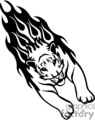 animal animals flame flames flaming fire vinyl-ready vinyl ready hot blazing blazin vector eps gif jpg png cutter signage black white tiger tigers gif, png, jpg, eps