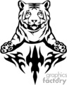 animal animals flame flames flaming fire vinyl-ready vinyl ready hot blazing blazin vector eps gif jpg png cutter signage black white tiger tigers wild cat cats big