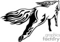 animal animals flame flames flaming fire vinyl-ready vinyl ready hot blazing blazin vector eps gif jpg png cutter signage black white horse horses wild
