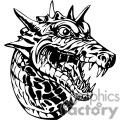 dragon dragons eps jpg png gif vector clipart images vinyl-ready vinyl ready cutter black white