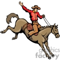 rodeo cowboy gif, png, jpg, eps